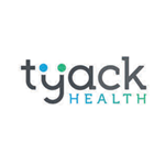 The Tyack Health logo, the words 'Tyack Health' with two circles above the y, one blue and one green.